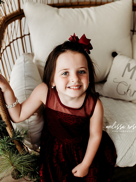 Culver - Holiday Studio Session | Melissa Rosic Photography, WV Family Photographer