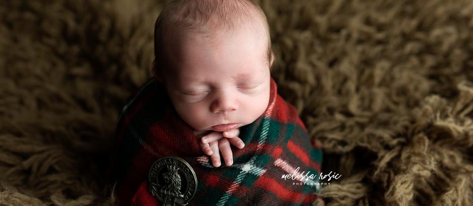 Calvin - Newborn Portrait Session | Melissa Rosic Photography, WV Newborn Photographer