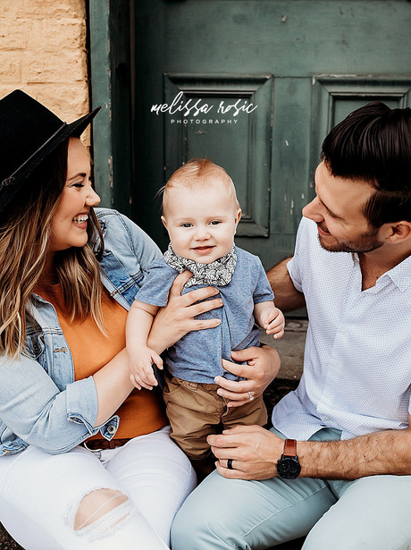 Front Porch Sessions | Melissa Rosic Photography, WV Family Photographer