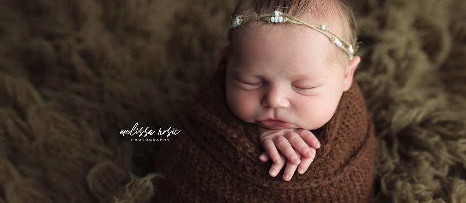 Lyra - Newborn Portrait Session | Melissa Rosic Photography, WV Newborn Photographer