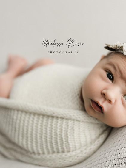 Ueltschy - Newborn Portrait Session | Melissa Rosic Photography, WV Newborn Photographer