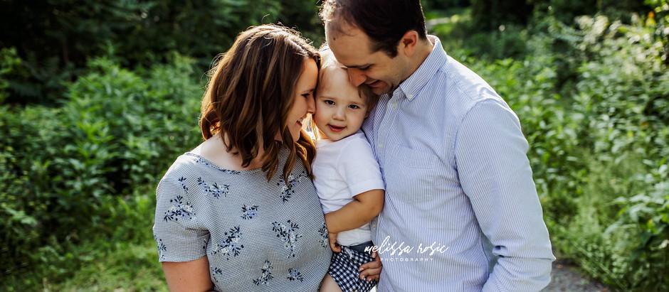 Butler - Family Portrait Session | Melissa Rosic Photography, WV Family Photographer