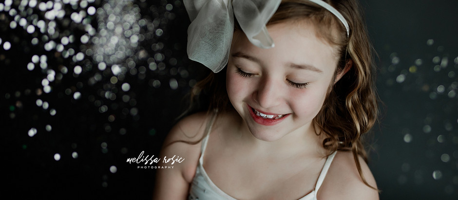 All that Sparkles! - Sparkle Studio Sessions | Melissa Rosic Photography, WV Family Photographer