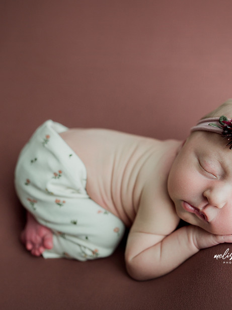 Keeting - Newborn Portrait Session | Melissa Rosic Photography, WV Family Photography