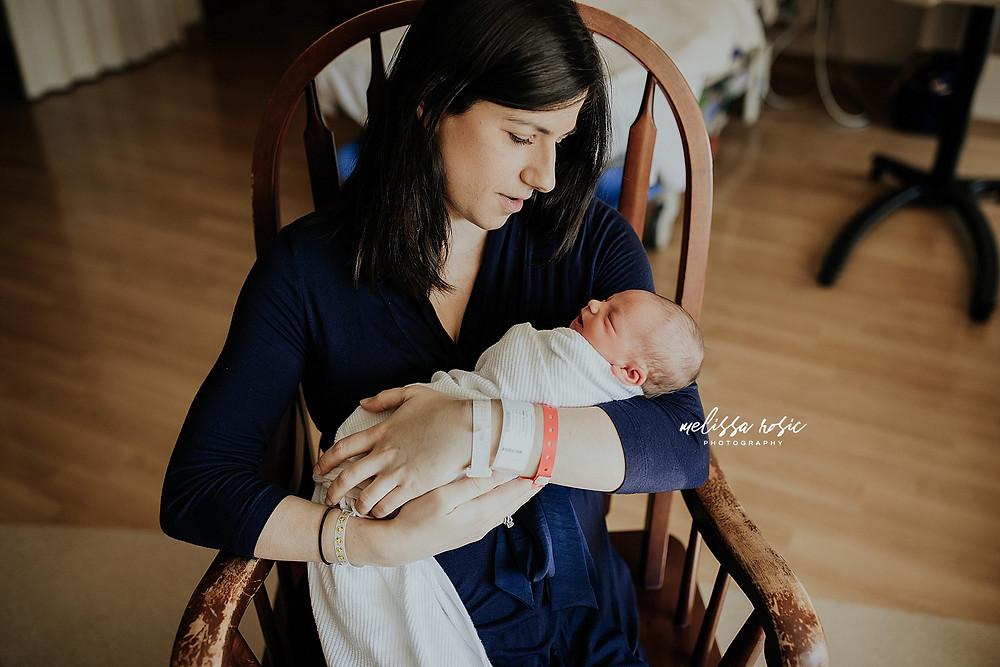 Melissa Rosic Photography | Bridgeport, WV Newborn Photographer