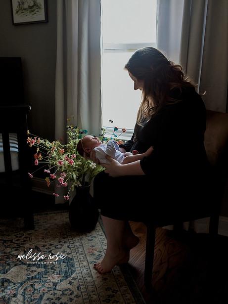Enos - Family Portrait Session | Melissa Rosic Photography, WV Family Photographer