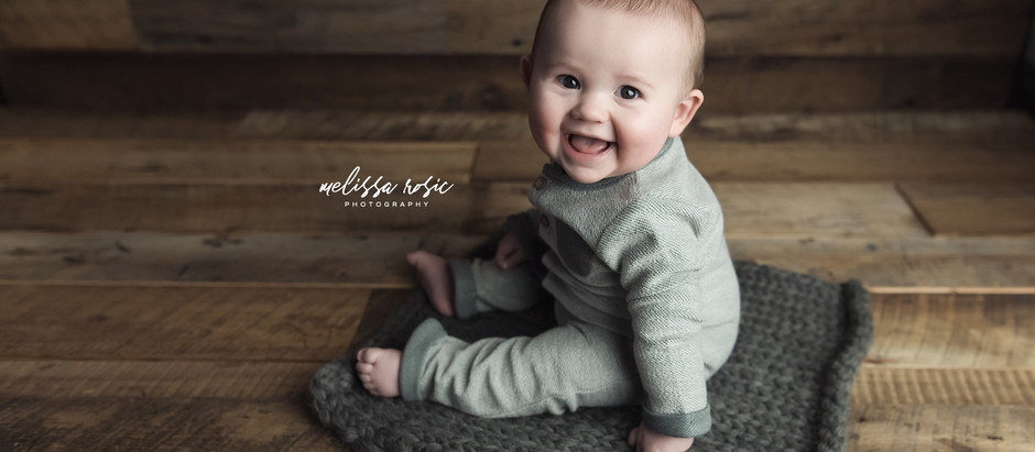 Caleb - Studio Portrait Session | Melissa Rosic Photography, WV  Family Photographer