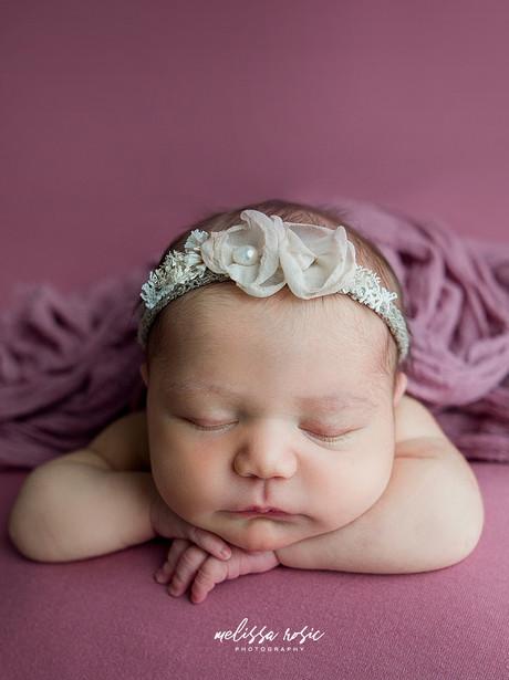 Sophia - Newborn Portrait Session | Melissa Rosic Photography, WV Newborn Photographer