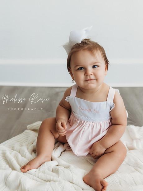 Giorgi - In-Studio Milestone Session   Melissa Rosic Photography, WV Family Photographer