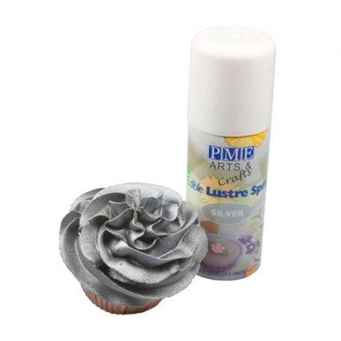 Spray Lustre PME Prateado