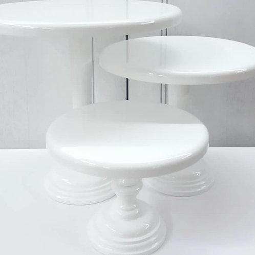 Cake Stand Branco 25cm