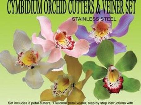Conjunto Cortador e Veiner Orquídea
