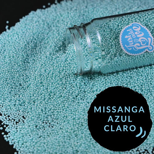 Missanga Azul Claro