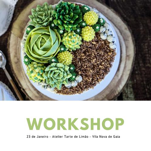 Workshop Terrarium - 20 Fevereiro (15h às 19.30h)