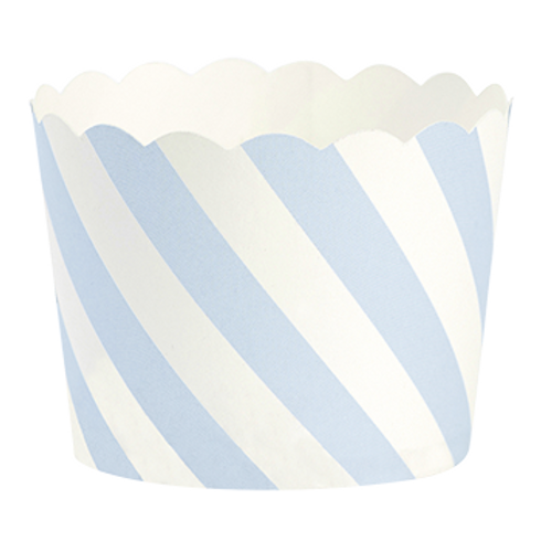 Formas Cupcakes Riscas Azuis