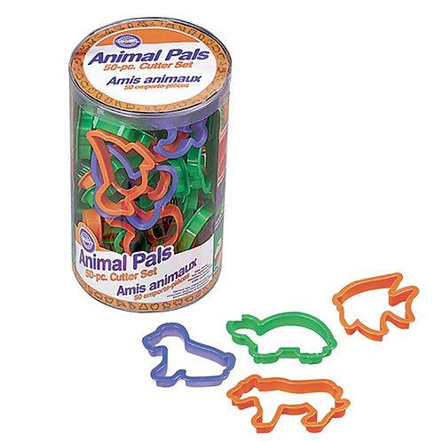 Conjunto de 50 Cortadores Animais Wilton