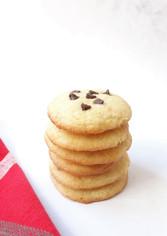Cookies com Pepitas de Chocolate