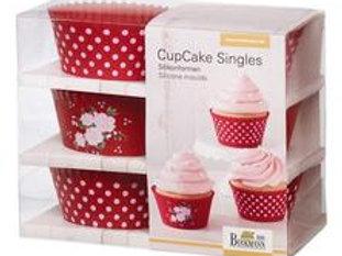Formas Cupcakes Silicone La Vie en Rose