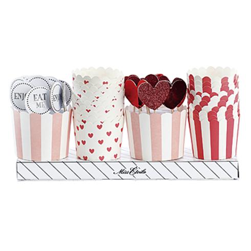 Conjunto Formas e Toppers para Cupcakes