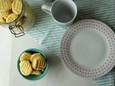 Biscoitos de Milho e Limão Sem Glúten