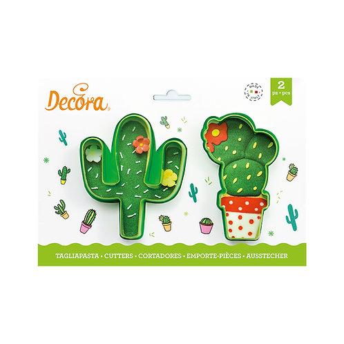 Cortadores Cactus x2 Decora