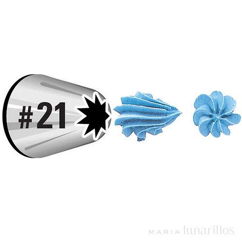 Boquilha Azucren 21