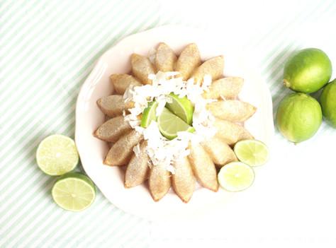 Bundt de Côco e Lima