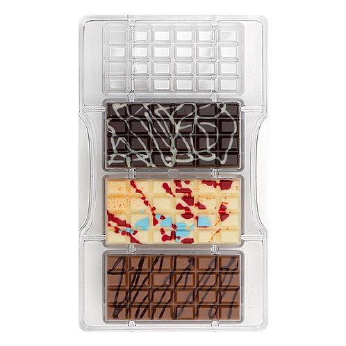 Molde Barra Chocolate Clássica