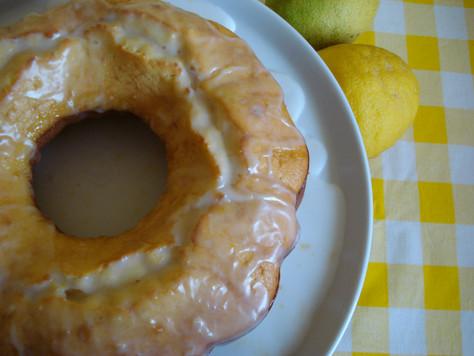 Bolo de Iogurte e Limão