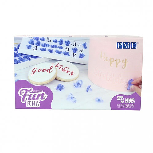 Fun Fonts Stamps Set PME