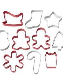 Conjunto 10 Cortadores Natal