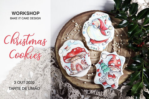 Workshop Christmas Cookies - 3 Outubro (15h às 19.30h)