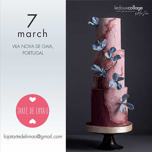 Masterclass Aged Pink Cake - 7 Março (9.30h às 18h)
