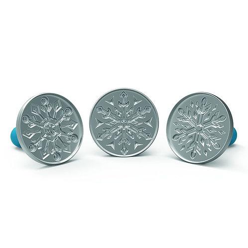 Carimbos Bolachas Falling Snowflakes Nordic Ware