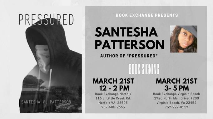 Santesha Patterson Book Signing