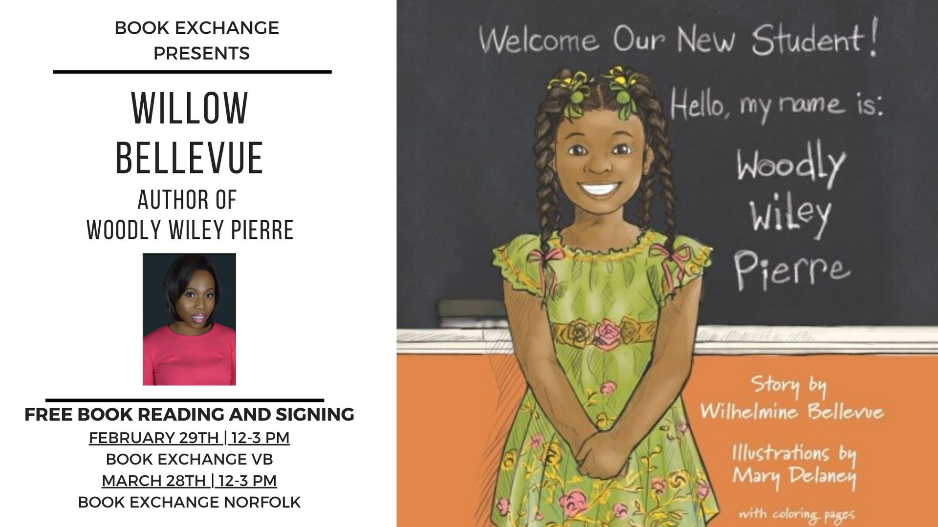 Willow Bellevue Book Signing