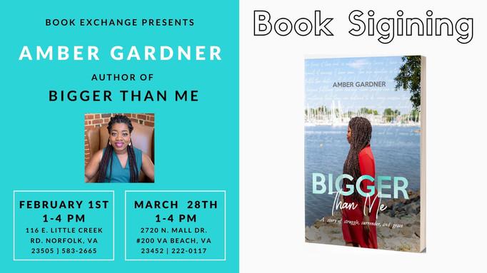 Amber Gardner Book Signing