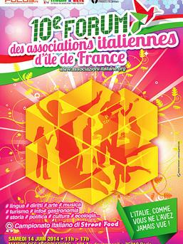 Forum associations italiennes, Paris