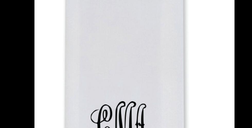 Elegance Guest Towel with Formal Monogram