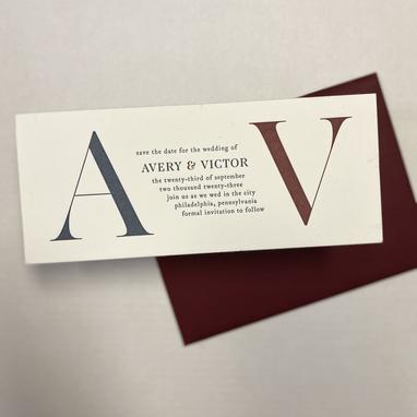 A & V Wedding