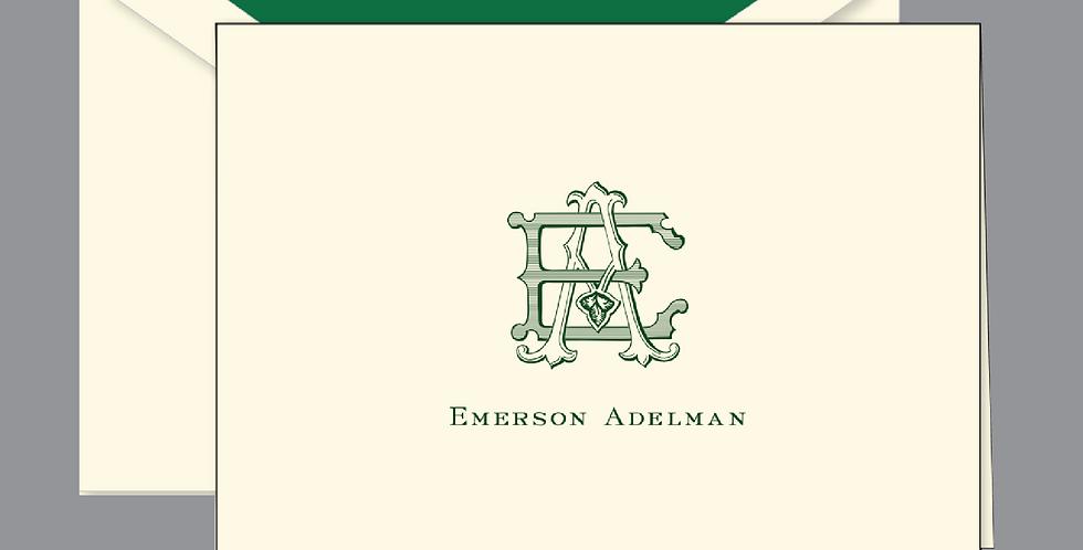 Emerson Letterpress Note