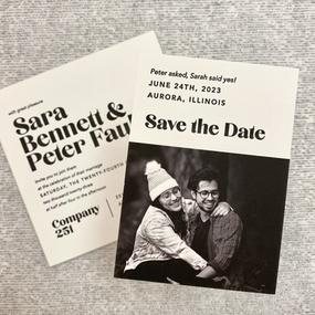 Sara & Peter Save the Date
