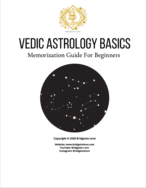 Vedic Astrology Study Guide For Beginners