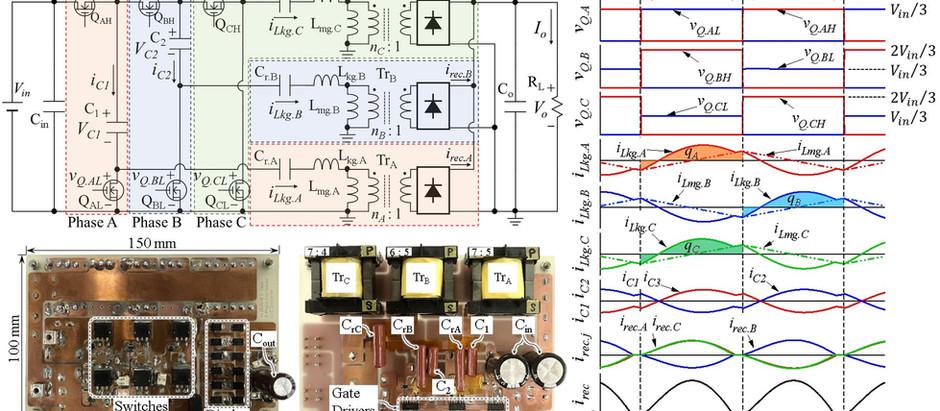 無制御での電流バランス可能な3相LLCコンバータの論文が採択されました Paper on the topic of automatic current balancing 3-phase LLC co