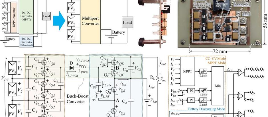 部分影補償器を統合したスイッチトキャパシタマルチポートコンバータに関する論文が採択されました