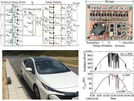 車載太陽電池パネル用補償器に関する論文が採択されました Paper on the topic of differential power processing converter for PHEVs