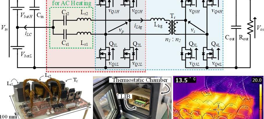 車載リチウムイオンバッテリ用交流加熱機能を有するDual Active Bridgeコンバータに関する論文が採択されました