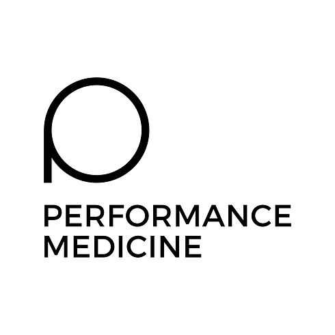 Performance-Medicine-Logo-Stacked-Black.