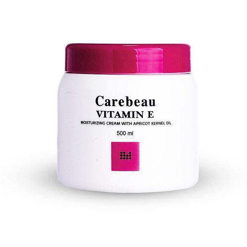 Крем для тела/Vitamin E Moisturizing Cream With Apricot Kernel, Carebeau. 500g