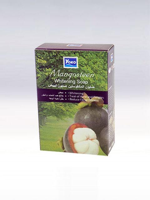 Мыло/YOKO MANGOSTEEN WHITENING SOAP. 100g